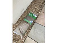 Bags of gravel (x2)