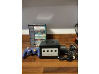 Nintendo Gamecube (DOL-001) - Black - includes 17 boxed games