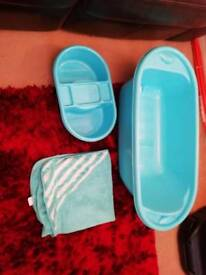 Mothercare baby bath bundle