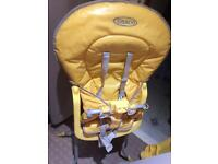 2 used graco high chairs