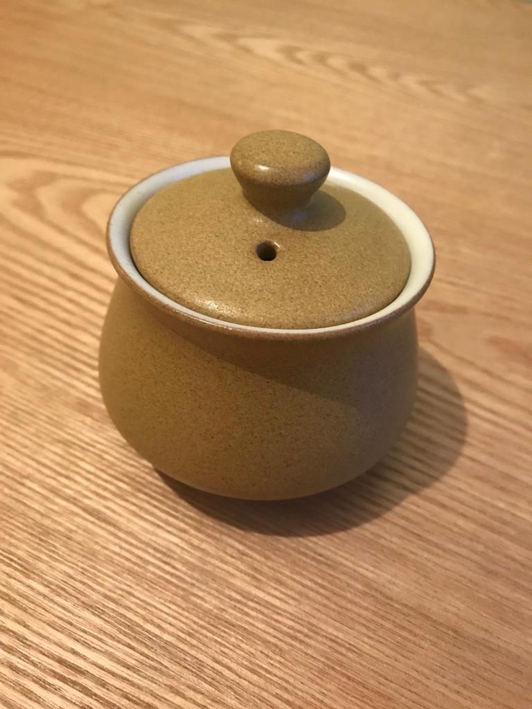 Denby ode pottery 1967 - 1977 sugar bowl