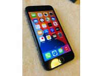 iPhone 8 Black 64GB IMMACULATE CONDITION on o2 Network. Boxed.