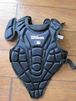 "WilsonvCatchers Baseball Softball EZ Gear 12""  Chest Protector Ages 7-9 Black s"