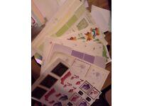 Big bag of card/jewellery making stuff