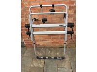 Thule BackPac - boot bike rack designed for vans, minibuses and MPVs with fittings for 2 bikes