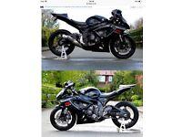 Suzuki gsxr 600 k7 swap/px enduro
