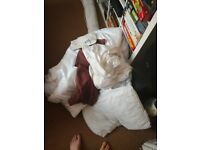 Job lot of double bed sized bedding
