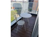Outdoor table and chairs - excellent condition