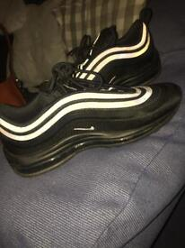 All black real worn twice 97 ultras size 7