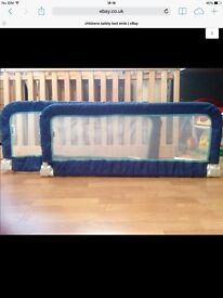 2 x children's safety bed guards