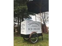 Traditional Ice Cream Carts for sale!