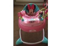 Mini Mouse Baby Walker - as good as new