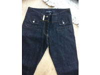 Dolce & Gabbana ladies Denim Jeans Size 34 8 10 Made In Italy Straight Leg