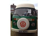 vw t2 camper 6 berth viking good condition for a 38 year old original bus