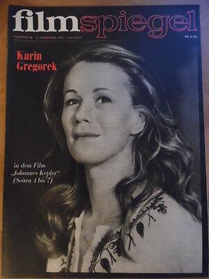 FILMSPIEGEL 23/1974 Karin Gregoreck DEFA: >Der Mann mit der Geige< B. Streisand (Der Mann Mit Der Geige)
