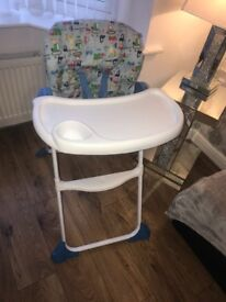 High chair brilliant condition