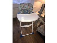 High chair brilliant condition