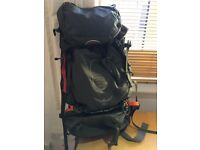 Osprey Atmos 65 AG (Including Osprey Airport Carrier bag, and other accessories)