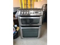 Hotpoint Dual Fuel Cooker HUD61X S