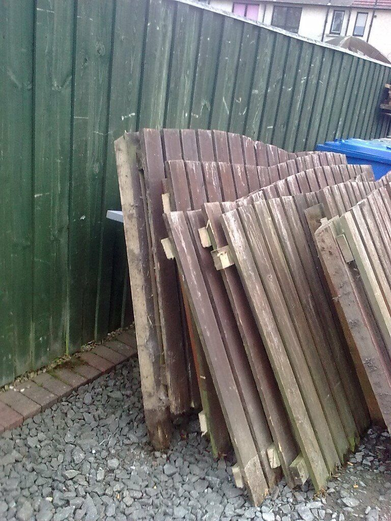 reclaimed fencing used