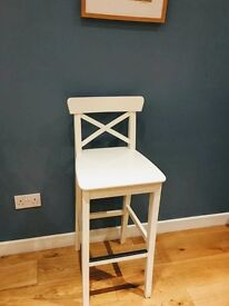 "4 x Ikea ""in golf"" bar stools"