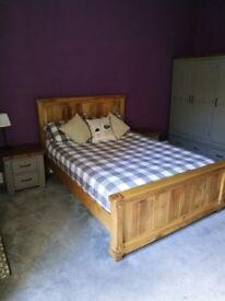 Oak furniture land double bed