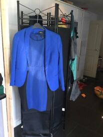 Papaya dress and matching jacket brand new