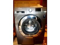 Samsung 8kg stainless steel washing machine(3months Old)can deliver