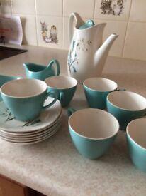 Staffordshire Midwiner coffee set