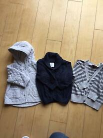 Boys 3-6 month Next cardigans