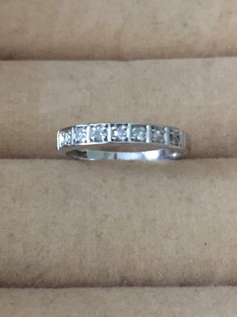 White gold and diamond ring - price reduced just in time for Christmas!
