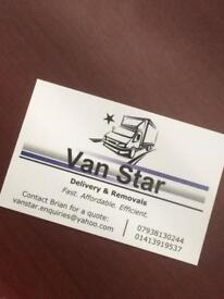 100 % Fully Insured Man and van |professional service|