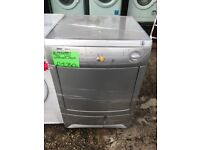 ZANUSSI 7KG CONDENSER TUMBLE DRYER IN SILIVER