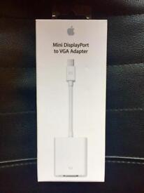 Urgent, Mini DisplayPort to VGA adapter.(apple original)