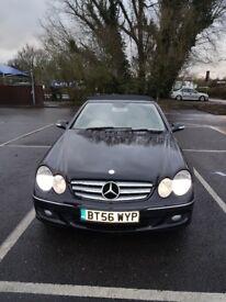 Mercedes CLK 200K Elegance Convestible for sale