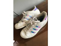 Adidas superstar trainers,size 3.5 UK size.