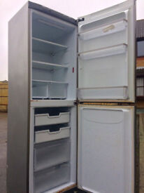 $$ REDUCED $$ HOTPOINT FUTURE 6FT SILVER FRIDGE FREEZER FREE DELIVERY