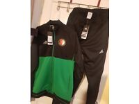 Feyenoord 2017/2018 Adidas Tracksuit Men Size XL