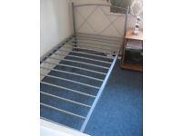 3FT Single Bed Frame + Mattress