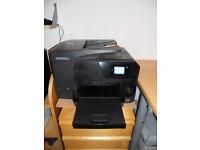 HP Officejet Pro 8710 All-in-One Multifunction Wireless Inkjet Printer-Black