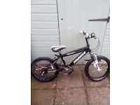 Boys bike 5-10 years bike can be adjusted to suit age needs new chain .. its a super cool bike
