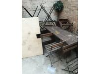 Garden tables and chairs for sale