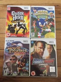 Wii games £1 each