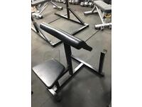 Preacher Curl Bicep Station / Bench - GYM Equipment