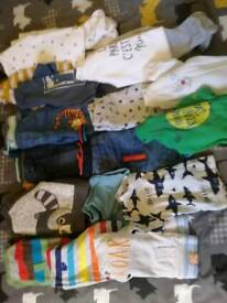 Baby boys clothes up to 1 month