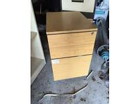 3 draw cabinet on wheels