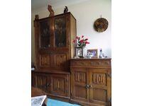 "JAYCEE ""Old Charm""solid oak living room furniture"