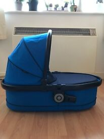 Icandy carrycot - peach 3- blue