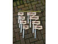 8 Klemsia F-clamps for sale