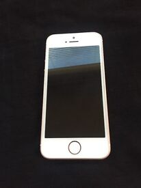 iPhone SE 64GB boxed rose gold